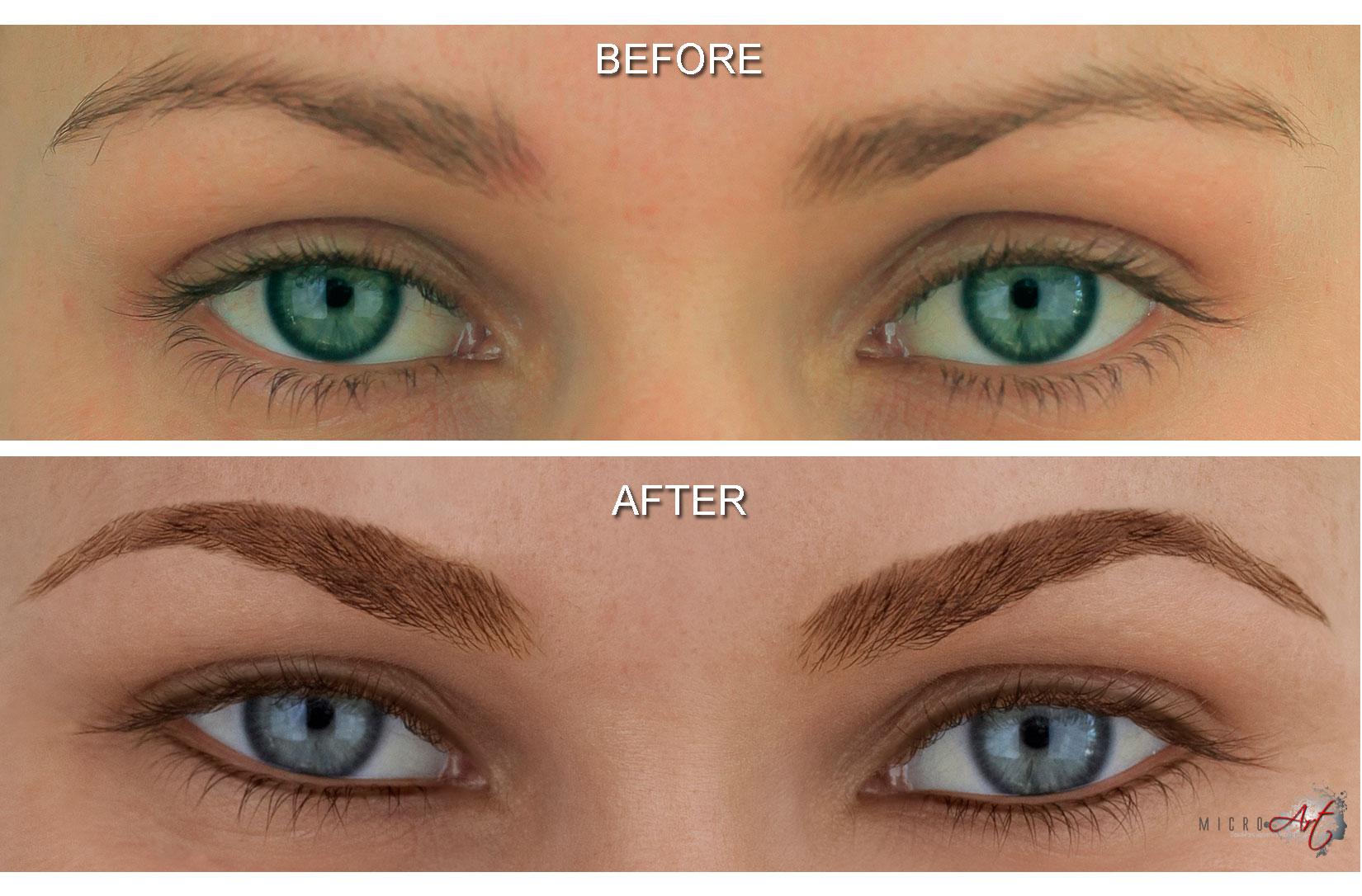 Eyeliner eyelash enhancement signature massage for Eyebrow tattoo aftercare instructions