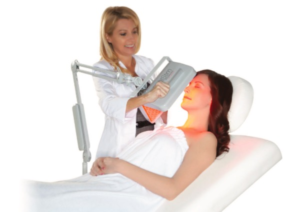 LED Light Therapy Facial, Light treatment, tampa facial services, derma planning