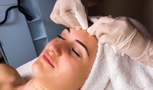 deep cleansing acne facial