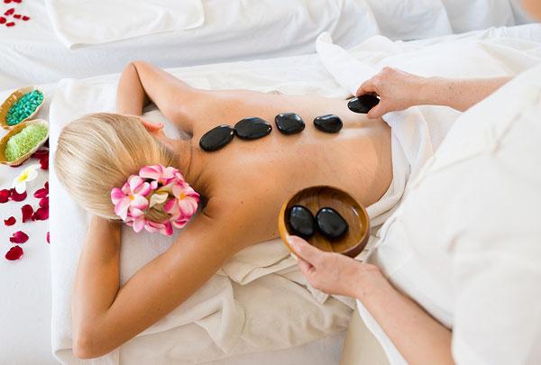 mini hot stone massage